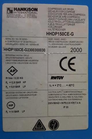 Serwis przemysłowych osuszaczy sprężonego powietrza Hankison SKiC Robert Aptacy