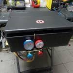 Naprawa i serwis lodówki samochodowej TIR MERCEDES