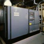 ZR4 oil-free air screw compressor installation
