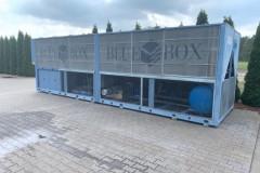 Naprawa Serwis Chiller BlueBox 500 kW FREE COOLING