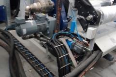 Chłodzenie wałków maszyna folia