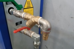 Przyłącze instalacji wody lodowej do urządzenia