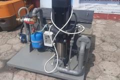 Stacja do czyszczenia wymienników i instalacji chłodniczych