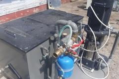 Stacja do czyszczenia wymienników i instalacji ciepłowniczych