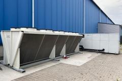 Chiller i dry cooler wraz z budową instalacji wody lodowej
