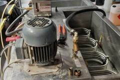 Pompa obiegowa chłodzenia wałków - nawilżacz BALDWIN