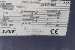 Naprawa serwis agregatu wody lodowej CIAT LDC540V