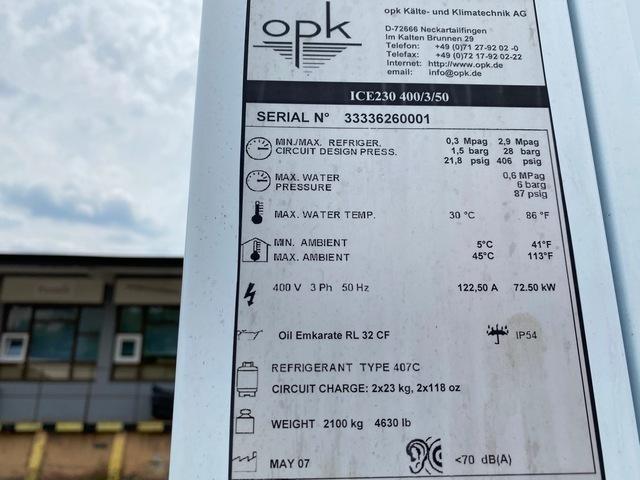 Sprzedaż Wynajem chiller OPK 170 kW SKiC Robert Aptacy