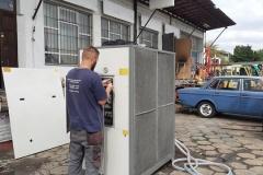 Naprawa serwis wytwornic wody lodowej Piovan SKiC Robert Aptacy