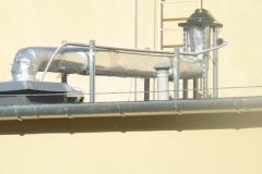 Wyciąg - wentylacja mechaniczna kuchni i stołówki SKiC Robert Aptacy