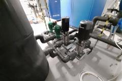 Woda lodowa instalacja - pompy zapasowe