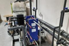 Woda lodowa instalacja - separator różnicy temperatur