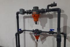 Woda lodowa instalacja - system kontroli cisnienia