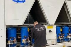 Wynajem agregatów wody lodowej Carrier