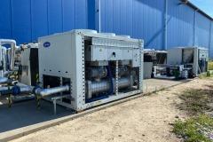 Wynajem przemysłowych agregatów wody lodowej