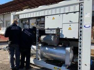 Agregat wody lodowej Carrier 30GX-122 w niskiej cenie