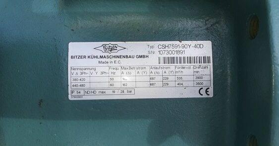 BITZER CSH7591-90Y-40D